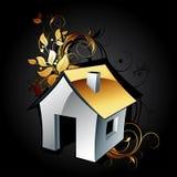 Casa dell'icona di Web Immagini Stock