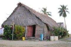 Casa dell'indiano di kuna del Panama Fotografia Stock