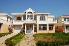 Casa dell'isola Immagine Stock