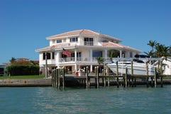 Casa dell'isola del tesoro Immagine Stock