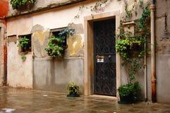 Casa della città di Venezia fotografia stock libera da diritti