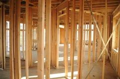 casa della costruzione Fotografia Stock Libera da Diritti