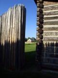 Casa della crepa Fotografia Stock