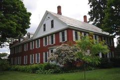 Casa della finestra del Vermont fotografie stock