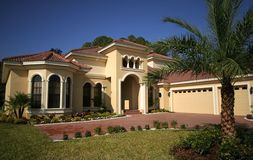 Casa della Florida Fotografia Stock Libera da Diritti