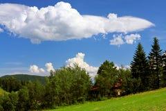 Casa della montagna Immagini Stock Libere da Diritti
