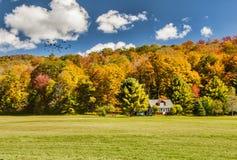 Casa della montagna fotografie stock