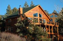 Casa della montagna Fotografie Stock Libere da Diritti
