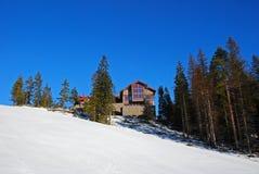 Casa della montagna Immagine Stock Libera da Diritti