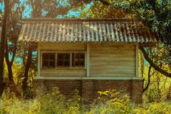 Casa della natura fotografie stock