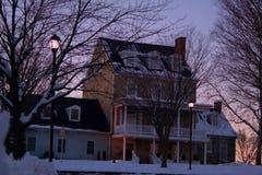 Casa della neve fotografie stock libere da diritti