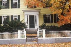 Casa della Nuova Inghilterra Fotografia Stock Libera da Diritti