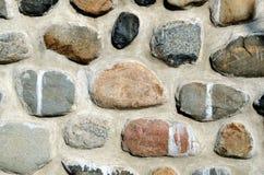 Casa della parete di pietra Fotografia Stock