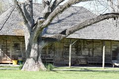 Casa della piantagione Melrose Fotografia Stock