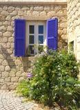 Casa della pietra di Alaçatı Fotografia Stock Libera da Diritti