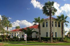 Casa della proprietà della Florida Fotografia Stock Libera da Diritti