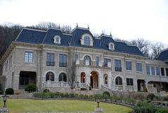 Casa della proprietà terriera della proprietà Fotografia Stock
