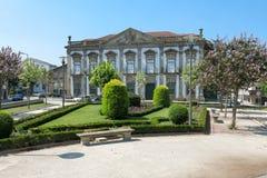 Casa della residenza grande a Braga, Portogallo Immagine Stock