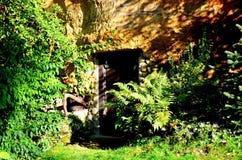 Casa della roccia Fotografia Stock