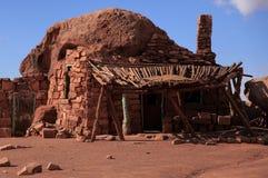 Casa della roccia in scala Escalante Fotografie Stock
