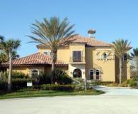 Casa della spiaggia della Florida Fotografie Stock