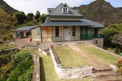 Casa della st Helena Island del padiglione di rovi del millefoglie immagine stock libera da diritti