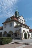 Casa della stazione termale di Sprudelhof, cattivo Nauheim, Hesse, Germania Fotografia Stock