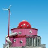 Casa della torta Immagine Stock