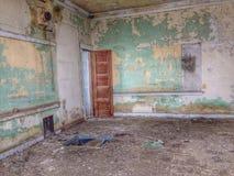 Casa della vecchia scuola Immagine Stock Libera da Diritti