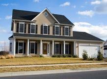 Casa della Virginia - contea di Frederick immagini stock libere da diritti