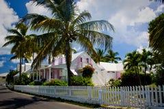 Casa delle Bahamas Fotografia Stock Libera da Diritti