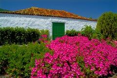 Casa delle isole Canarie Fotografia Stock Libera da Diritti