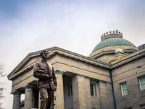 Casa dello stato in Raleigh North Carolina immagine stock