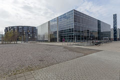 Casa dello studente ed università di copenahagen Immagine Stock