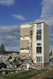 Casa demolida Foto de archivo