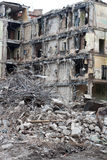 Casa demolida Fotos de archivo