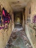Casa demulida abandonada Foto de Stock Royalty Free
