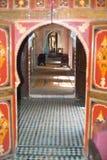 Casa dentro en Agadir, Marruecos Imágenes de archivo libres de regalías