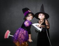Casa desesperada o Dia das Bruxas Imagens de Stock Royalty Free