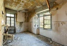 Casa destruída velha Imagem de Stock