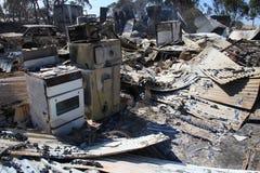 Casa destruida Fotos de archivo libres de regalías