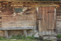 Casa-detalle de Transylvanian Foto de archivo libre de regalías