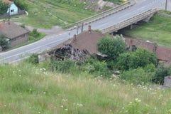 Casa deteriorada Foto de archivo libre de regalías