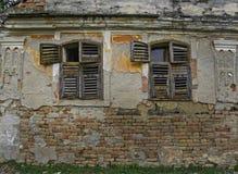 Casa devastada vieja Imagen de archivo