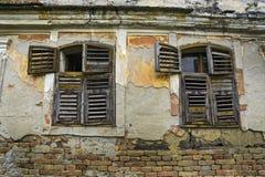 Casa devastada vieja Fotos de archivo libres de regalías