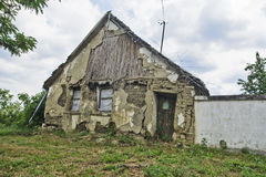 Casa devastada vieja Foto de archivo