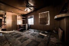 Casa di abbandono Immagine Stock