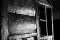 Casa 2 di abbandono fotografie stock