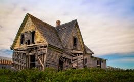Casa di abbandono di Shagging immagine stock libera da diritti