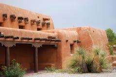 Casa di adobe del New Mexico Fotografia Stock Libera da Diritti